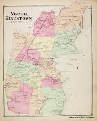 Old Map Of Suffolk County North Kingstown Rhode Island Antique Maps And Charts U2013 Original