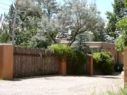 adobe homes are a very green construction style this santa fe