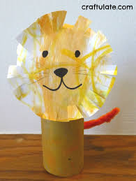 lion crafts for toddlers lion craft toilet paper roll crafts