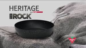 heritage the rock forged non stick cookware set 10 pc canadian tire