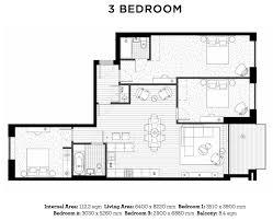bedroom plans wharf floor plans