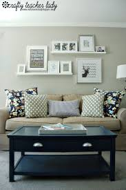 Decorating Living Room Walls by 25 Best Shelves Above Couch Ideas On Pinterest Above The Couch