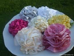 ruffled ribbon diy ruffled ribbon flower ribbon dahlia