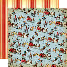 cowboy wrapping paper carta cowboy country 12x12 paper west scrapbook
