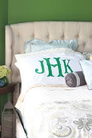 monogram pillow sham tutorial buy versus diy a southern mother
