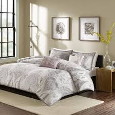 Perry Ellis Asian Lilly 3 Piece Mini Duvet Cover Set 100 Cotton Duvet Cover Sets You U0027ll Love Wayfair