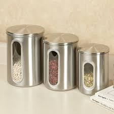 stainless steel kitchen canister set home design ideas and pictures wonderful stainless steel kitchen canister set kitchen cannister sets ceramic canister set 4 vintage hand painted