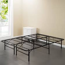 Iron Frame Beds Spa Sensations Steel Smart Base Bed Frame Black Sizes