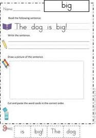sight words sentences bundle sentences primer and worksheets