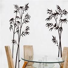 chinese black bamboo 3d diy vinyl wall mural decals stickers tv see larger image