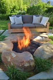 Patio Table With Built In Fire Pit - best 25 gas outdoor fire pit ideas on pinterest cowboy fire pit