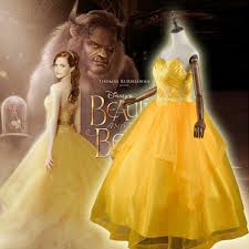 beauty and the beast princess belle costume 2017 new emma watson
