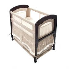 Mini Co Sleeper Canopy by Arm U0027s Reach Cambria Co Sleeper Wooden Baby Bassinet U2013 Co Sleeping