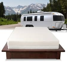 select luxury home rv 6 inch firm flippable short queen size foam