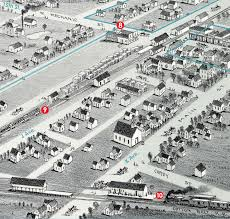 Tcu Parking Map Plano 1891 Then And Now Plano Magazine