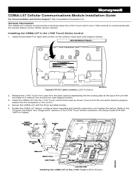 download honeywell 5822t installation manual and setup guide