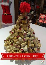 create a wine cork christmas tree create u0026 craft usa