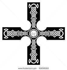celtic cross tattoosceltic cross another stock vector