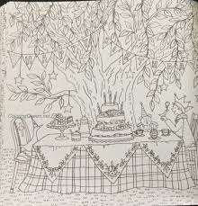 romantic country the third tale coloring book review english