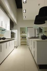 kitchen modern small kitchen design using white galley kitchen