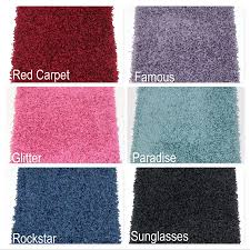Thick Area Rugs Showbiz 1 2 Thick Shag Indoor Area Rug Collection
