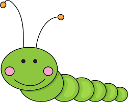 inchworm clipart computer worm pencil and in color inchworm