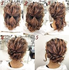 updos for curly hair i can do myself easy updos for short hair to do yourself facial hair pinterest