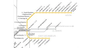 Metro North Route Map by Service Begins On Metro Gold Line Extension Nbc Southern California