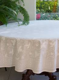 White Table Cloths White Tablecloth Wedding Tablecloth Indian Tablecloth 70 Round