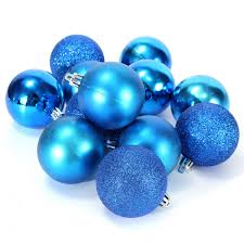 48x tree large balls decorations baubles wedding