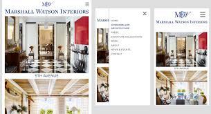 websites for new york designers marshall watson interiors