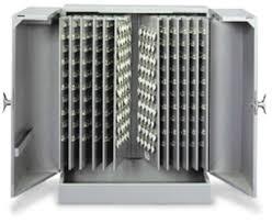 Key Storage Cabinet N1020583 Table Top Key Cabinet 700 Key Capacity Grey Key