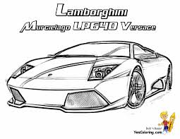 coloring pages lamborghini fresh 7336