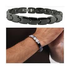 bracelet magnetic images Healthy care top black ceramic couple bracelet magnetic bangle jpg