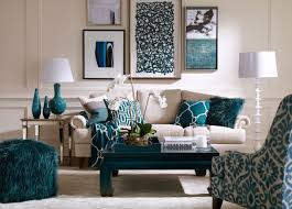 blue livingroom living room aqua blue themed room decorating with beige best of