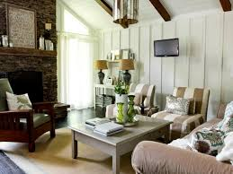 Rustic Livingroom Rustic Cottage Living Room Milk And Honey Home Hgtv