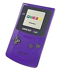 Nintendo Purple Console Gbc Peripheral Gameboy Co Amazon Co Uk Gameboy Color