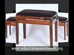 Griffin Piano Bench Best Adjustable Piano Bench Youtube