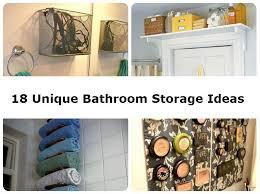 unique bathroom storage ideas 18 unique bathroom storage ideas diy comfy home