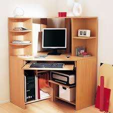 bureau d angle en pin grand bureau d angle bureau duangle pour pc grand espace de