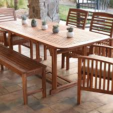 Butterfly Patio Furniture by Acacia Wood Patio Butterfly Table Brown Walker Edison Furniture Co