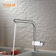 online get cheap colored kitchen faucet aliexpress com alibaba spout kitchen faucet deck mount pull out sink mixer kitchen mixer tap square handle hot and cold water led color taps