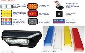 whelen ambulance light bar whelen 4500 series