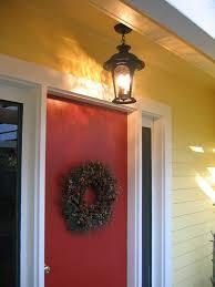 red front door bm heritage red front door glidden jonquil yellow flickr