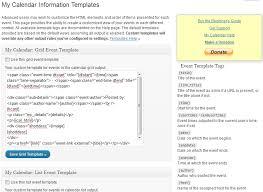 my calendar u2014 wordpress plugins