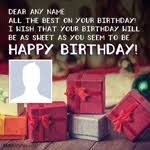 birthday wishes with name and photo best cards