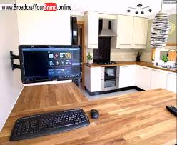 küche einbauen elegante küche computer einbauen
