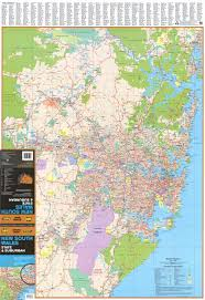 Map Of Wales New South Wales Ubd Wall Map 270 Buy Wall Map Of Nsw Mapworld