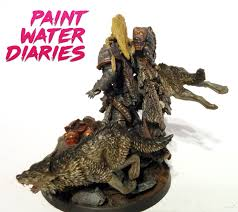 leman russ primarch of the space wolves paint water diaries