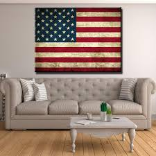 American Flag Picture Rustic American Flag Canvas Set Canvas Freaks